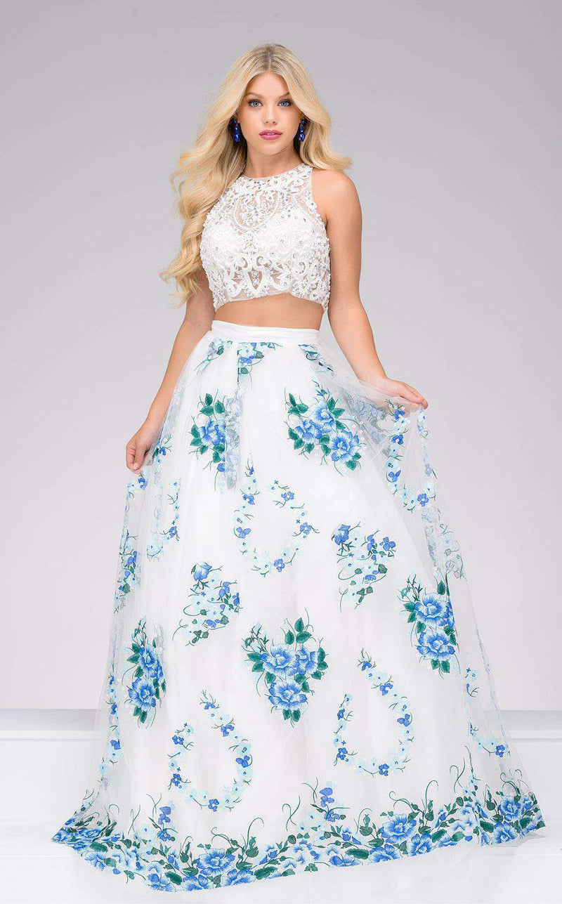 Jovani 48708 White/Multi