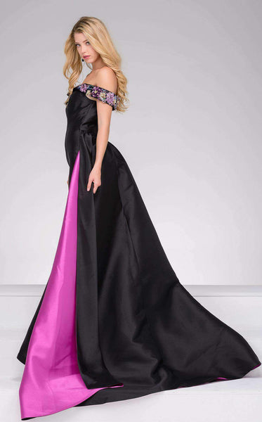 Jovani 48747 Black/Multi