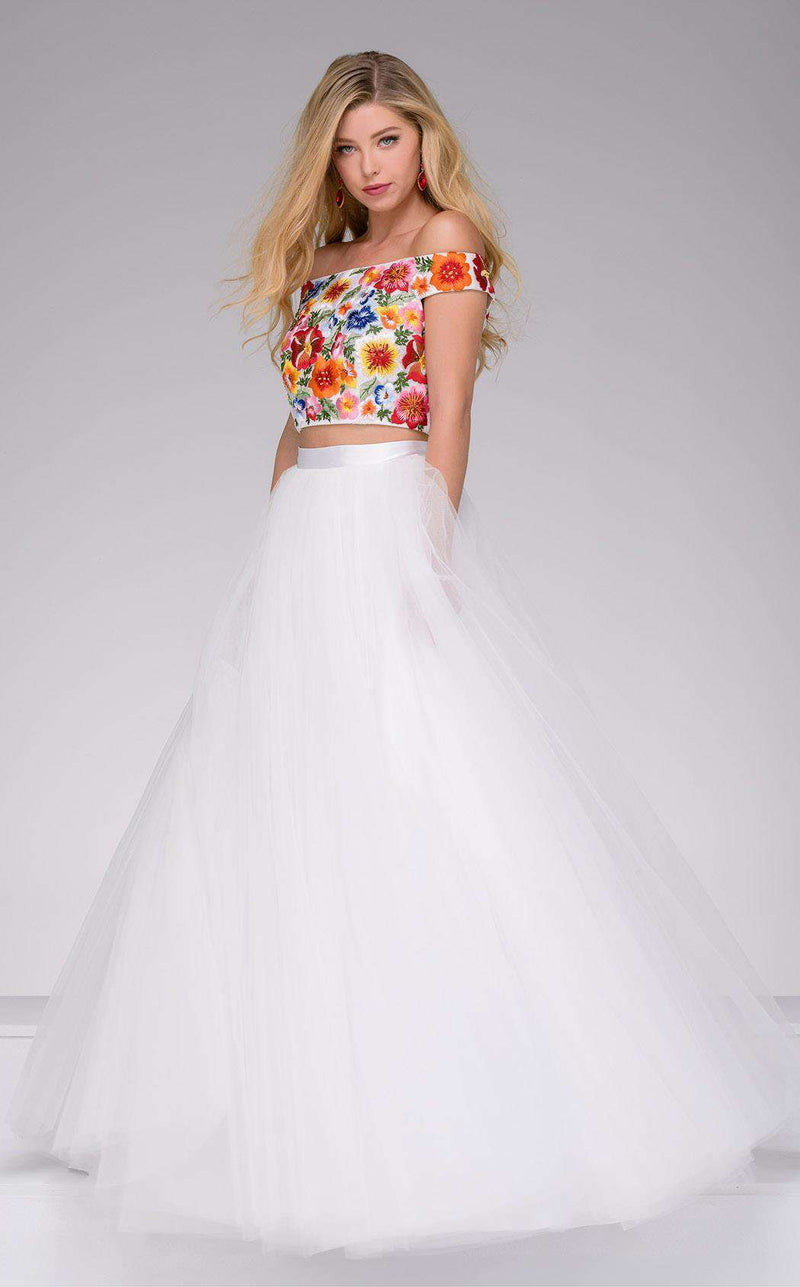 Jovani 48790 White/Multi
