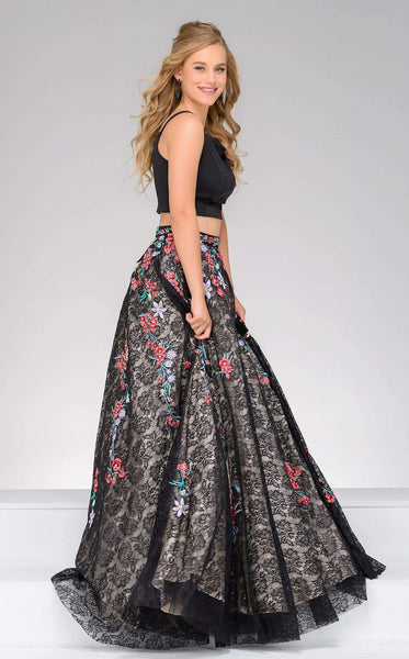 Jovani 48892 Black/Multi