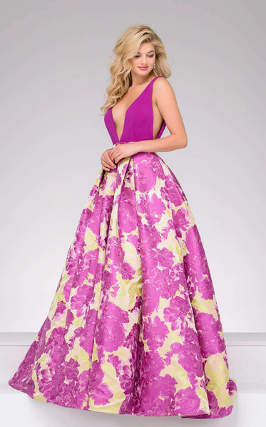 Jovani 48923 Purple Mint