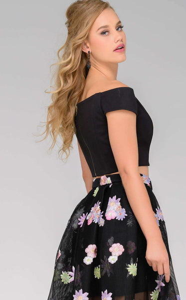 Jovani 48993 Black/Multi