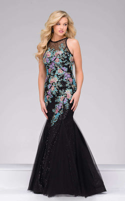 Jovani 41661 Black/Multi