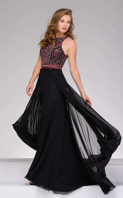Jovani 45998 Black/Multi
