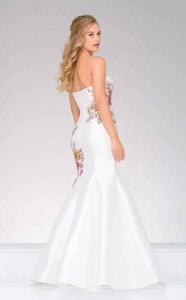 Jovani 33689 White/Multi