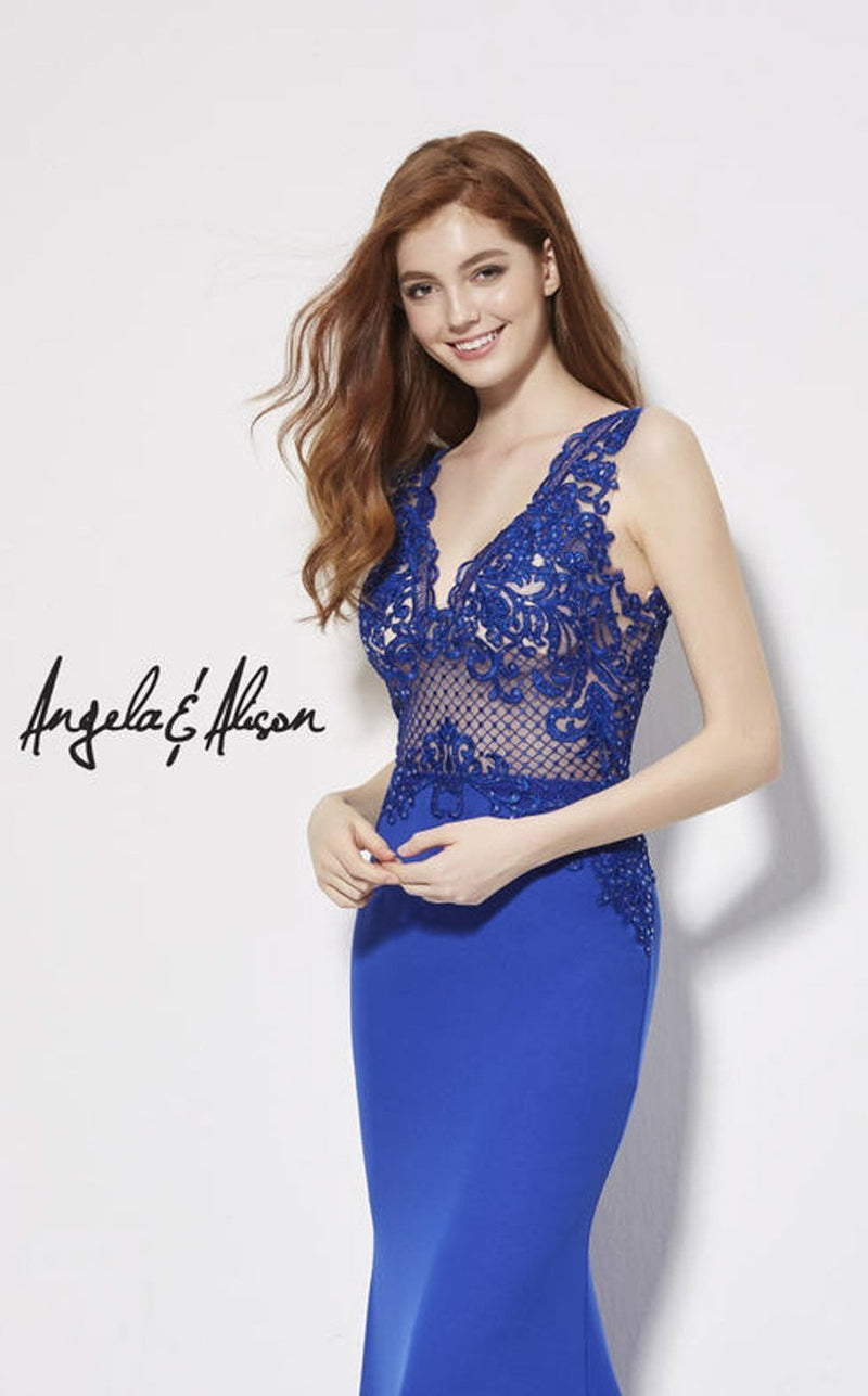 Angela and Alison 81017 Royal-Blue