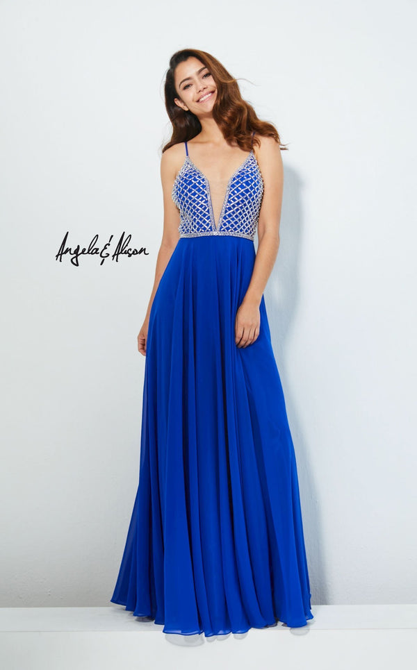Angela and Alison 81053 Royal-Blue