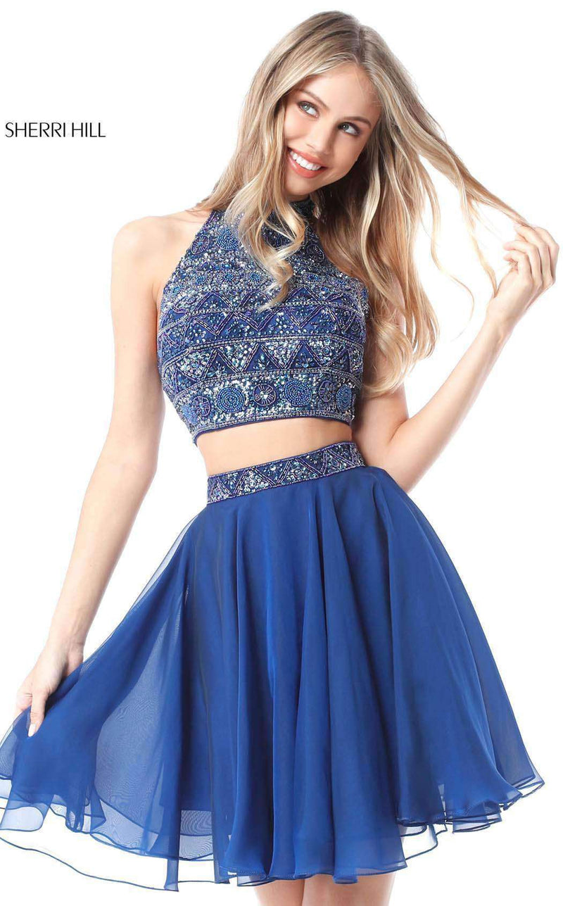 Sherri Hill 51297 Blue