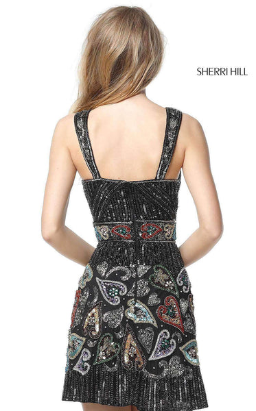Sherri Hill 51358 Black/Multi