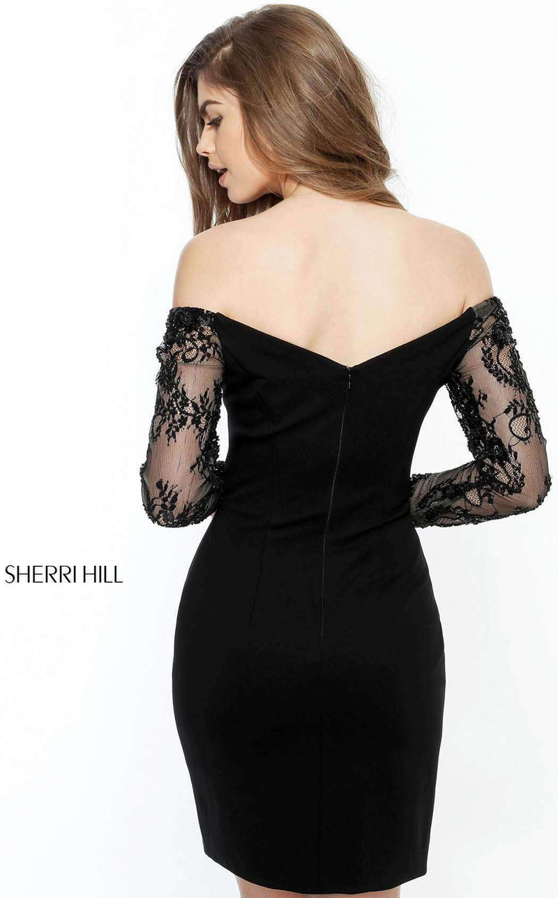 Sherri Hill 51361 Black