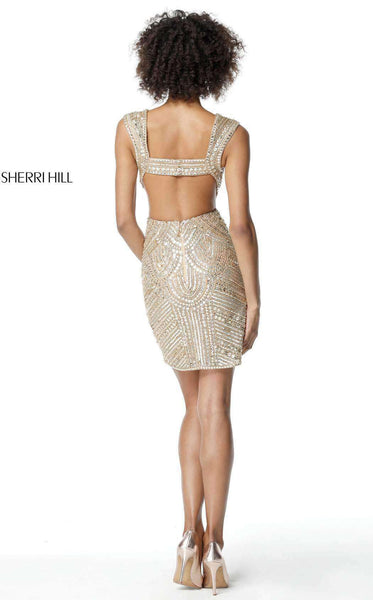 Sherri Hill 51362 Gold