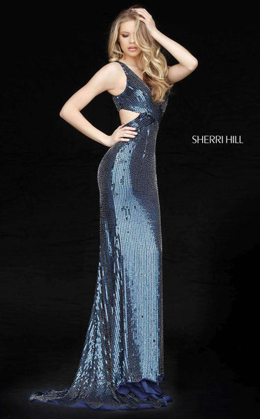 Sherri Hill 51364 Navy