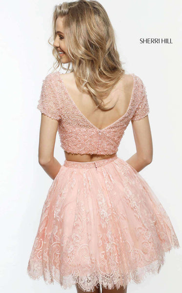 Sherri Hill 51366 Blush