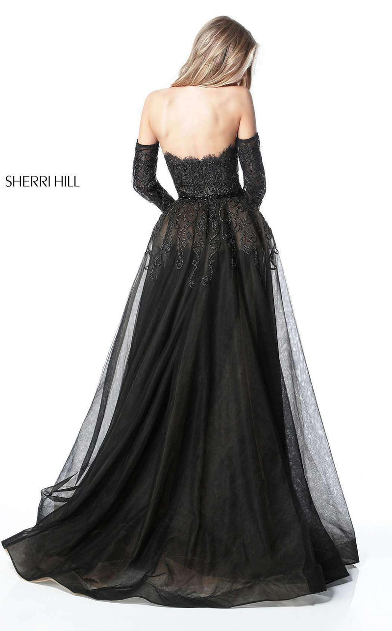 Sherri Hill 51384 Black