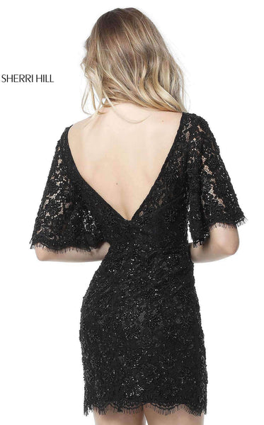Sherri Hill 51386 Black