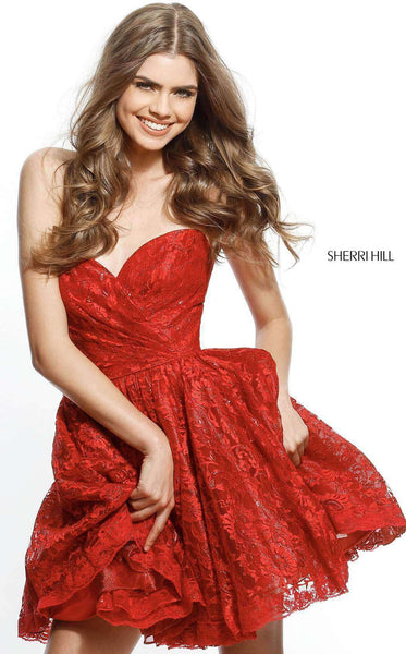 Sherri Hill 51387 Red