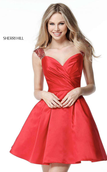 Sherri Hill 51389 Red
