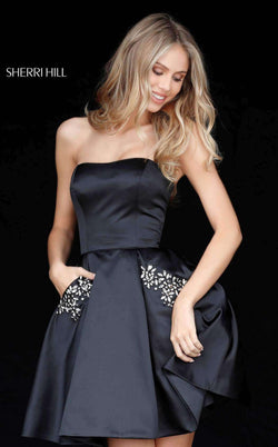 Sherri Hill 51390 Black