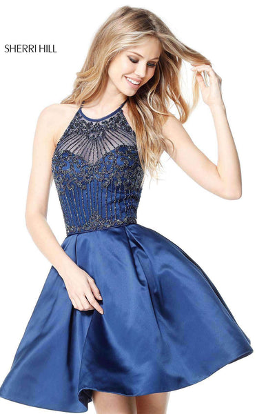 Sherri Hill 51399 Navy