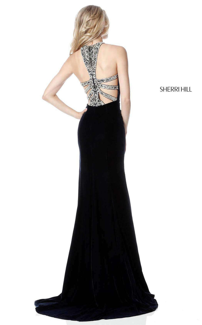 Sherri Hill 51400 Black