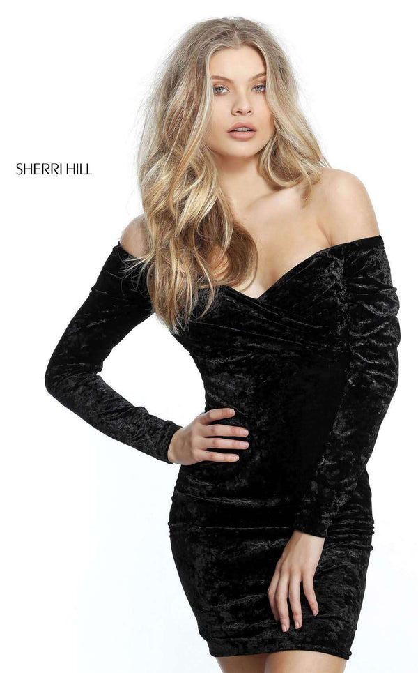 Sherri Hill 51403 Black