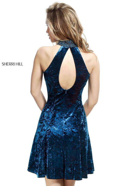 Sherri Hill 51404 Teal