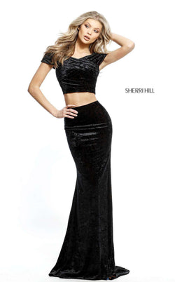 Sherri Hill 51408 Black