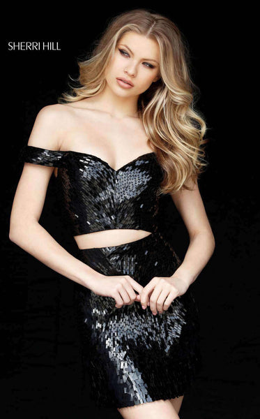 Sherri Hill 51411 Black