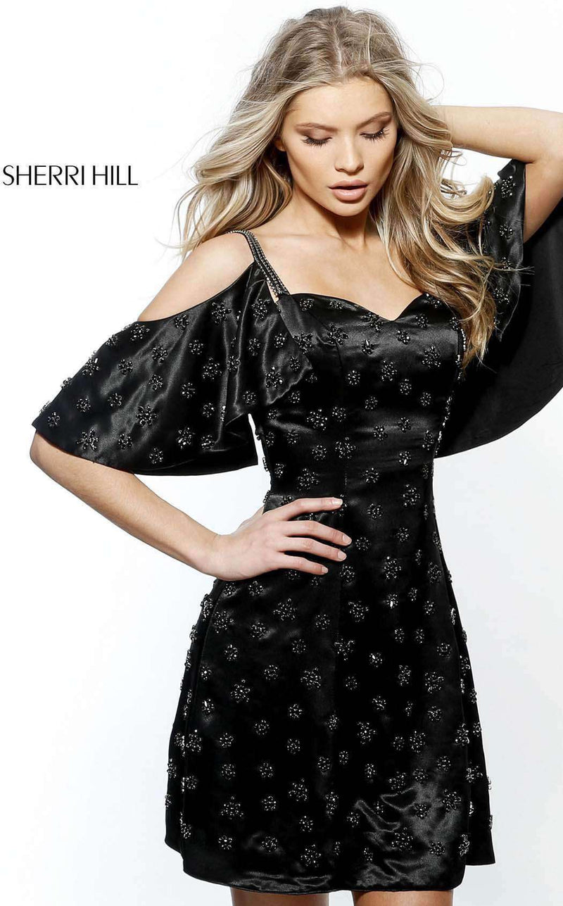 Sherri Hill 51419 Black
