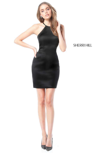 Sherri Hill 51421 Black