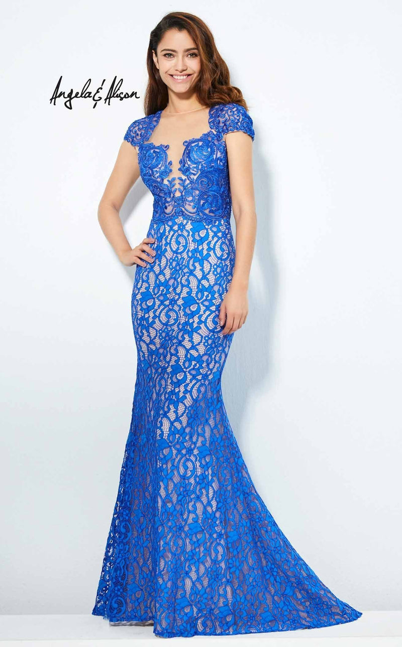 Angela and Alison 81103 Royal-Blue
