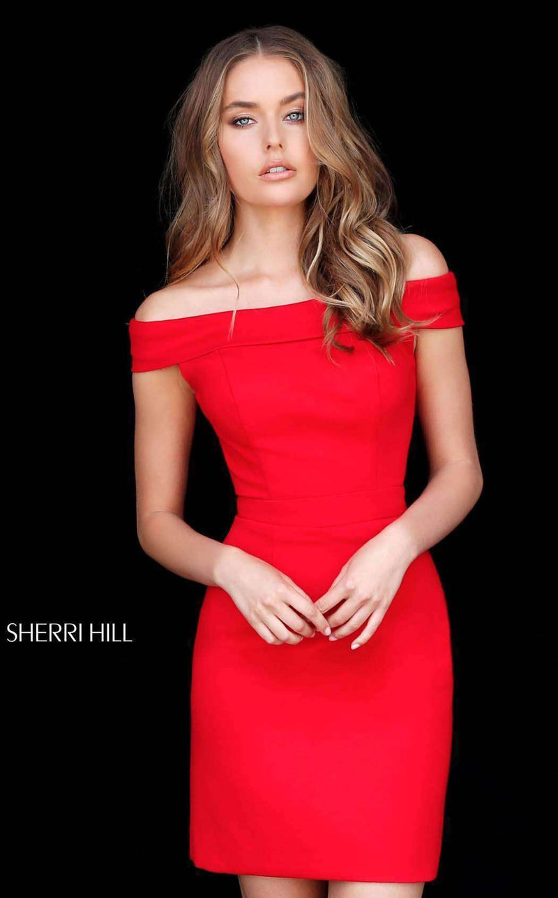 Sherri Hill 51423 Red