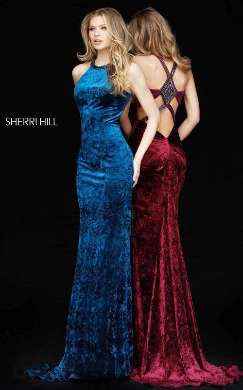 Sherri Hill 51424 Teal
