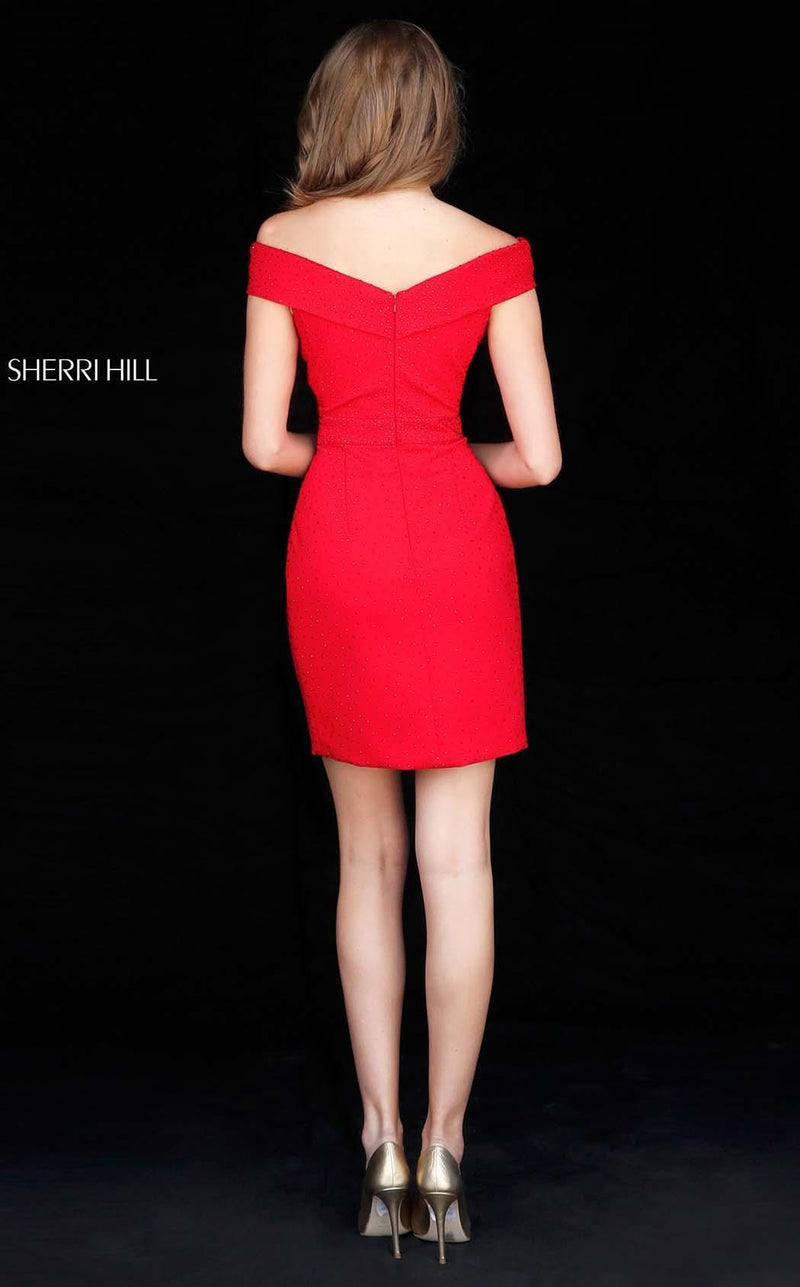 Sherri Hill 51425 Red