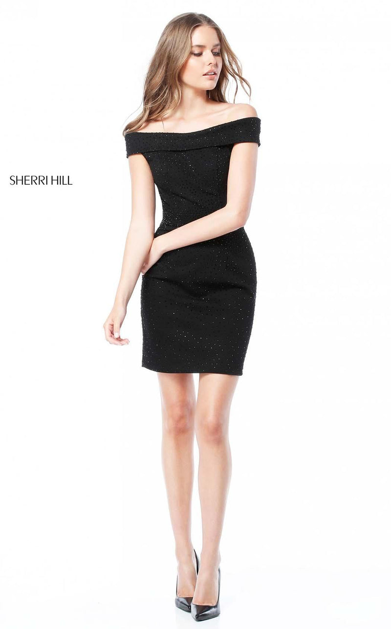 Sherri Hill 51425 Black