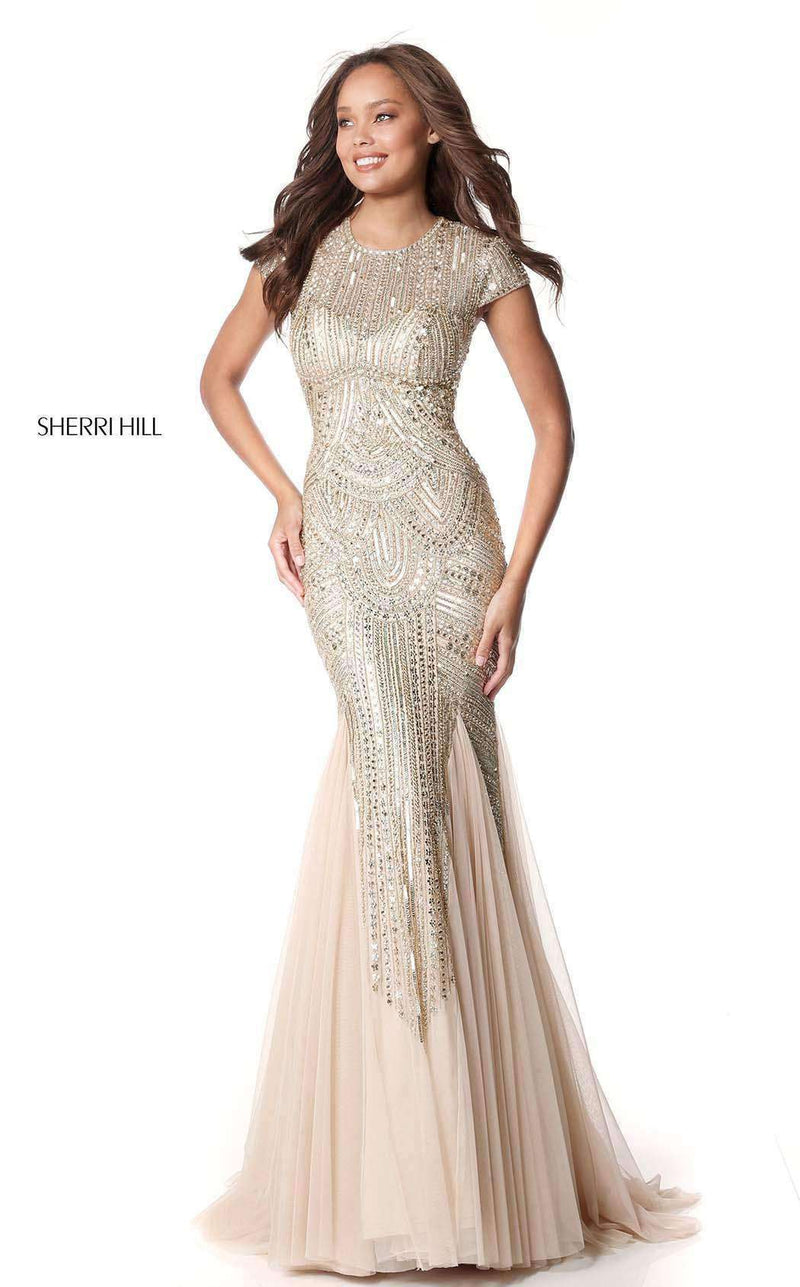 Sherri Hill 51426 Gold