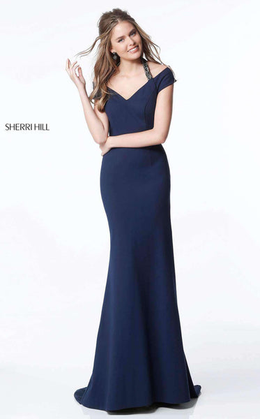 Sherri Hill 51436 Navy