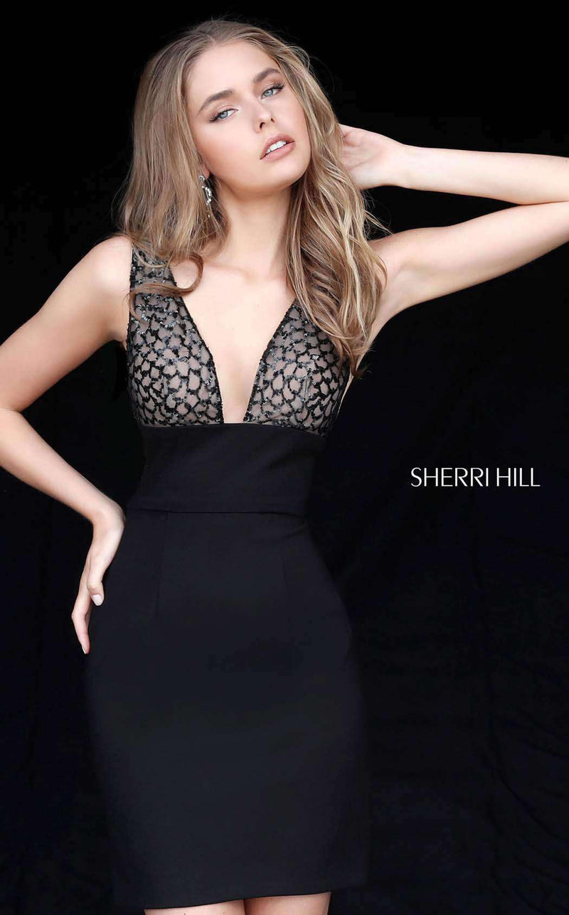 Sherri Hill 51439 Black