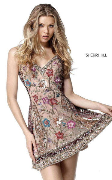 Sherri Hill 51489 Nude/Multi