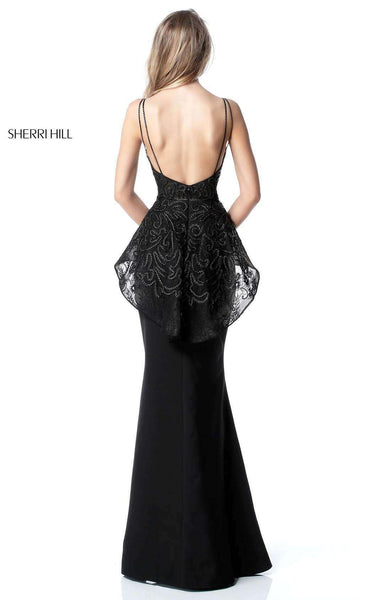 Sherri Hill 51490 Black