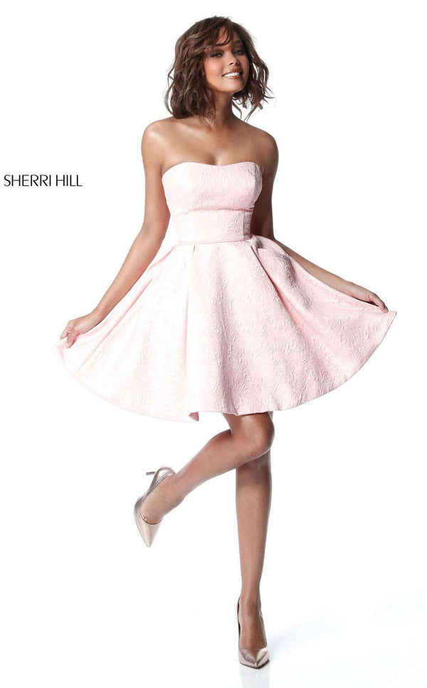 Sherri Hill 51518 Blush