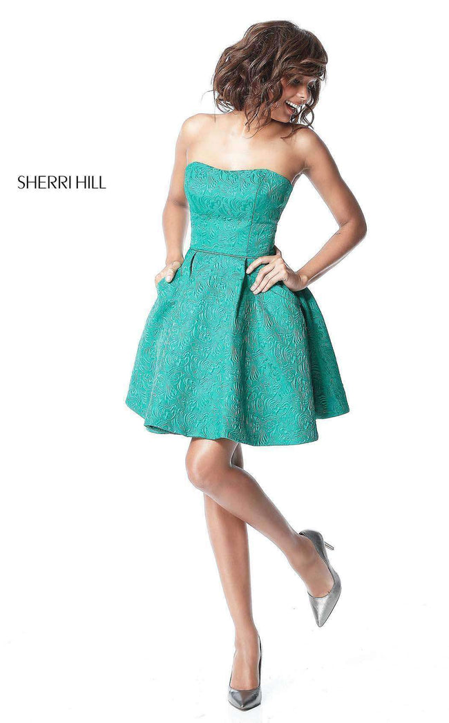 Sherri Hill 51518 Emerald