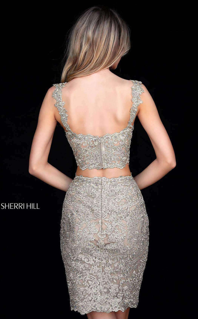 Sherri Hill 51522 Gold
