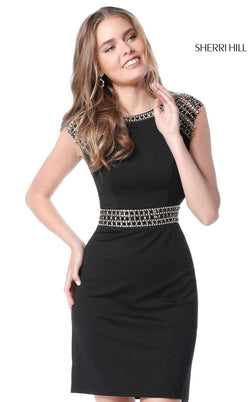 Sherri Hill 51523 Black
