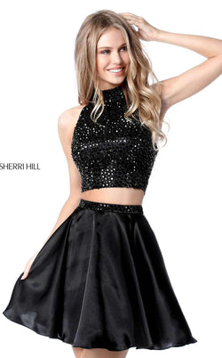 Sherri Hill 51540 Black