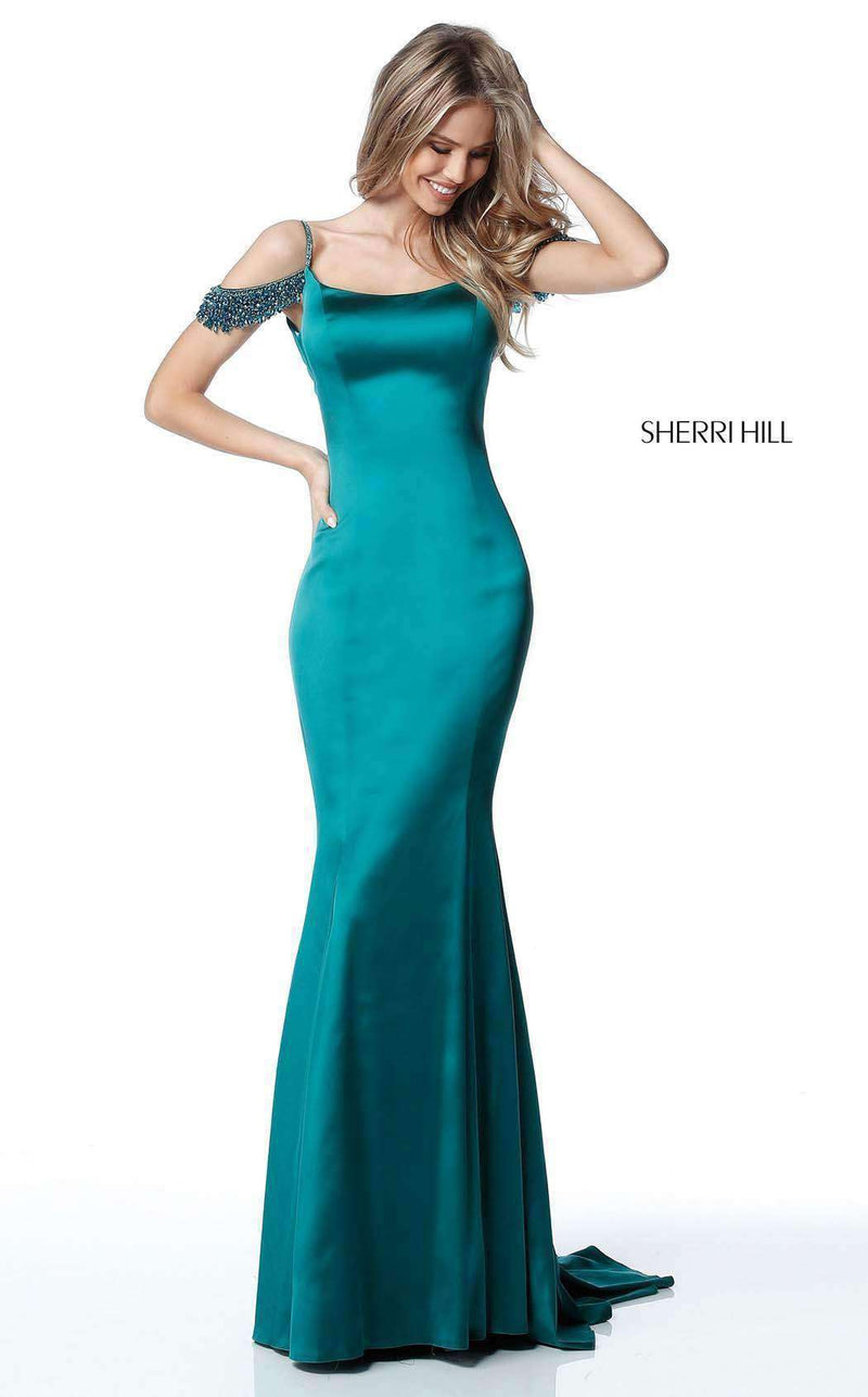 Sherri Hill 51541 Teal
