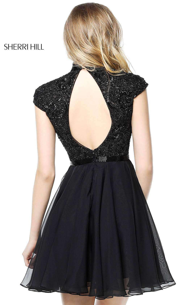 Sherri Hill 51275 Black