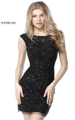 Sherri Hill 51286 Black