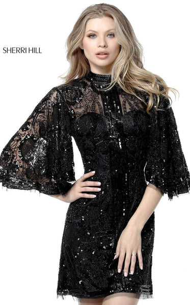 Sherri Hill 51290 Black