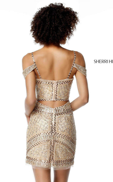 Sherri Hill 51292 Gold